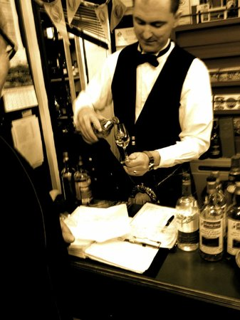 The Whisky Shop Dufftown: The owner