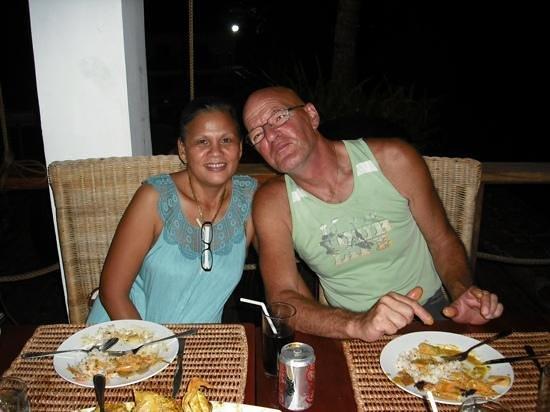 Bulskamp Inn: owners Virgie and Eddy