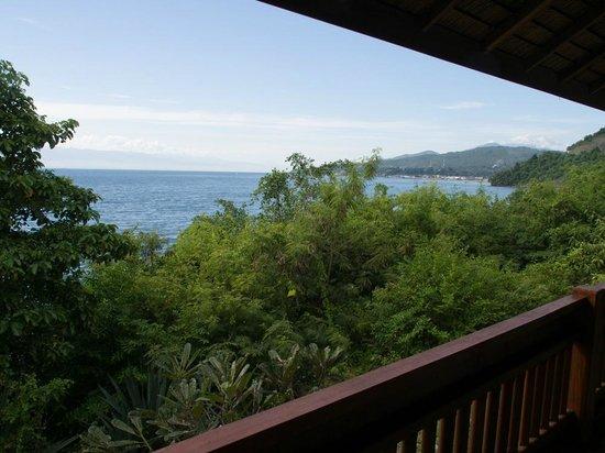 Prince John Dive Resort: Aussicht vom Balkon
