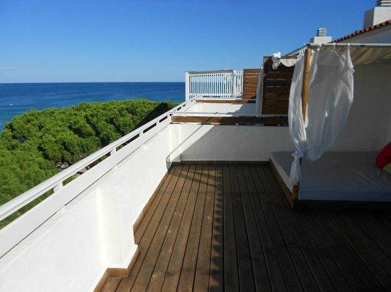 Hotel Terramarina: Vista desde sexta planta