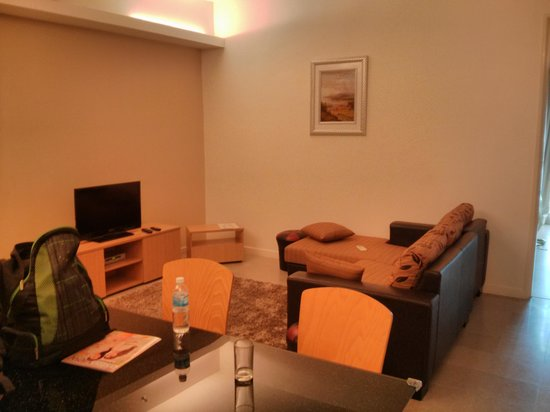 One-Stop Serviced Residence & Office: Living area