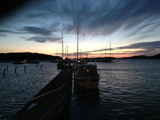 Bryggan i Fjallbacka: Night view