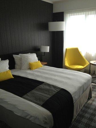 Radisson Blu Hotel Amsterdam Airport: The Bedroom