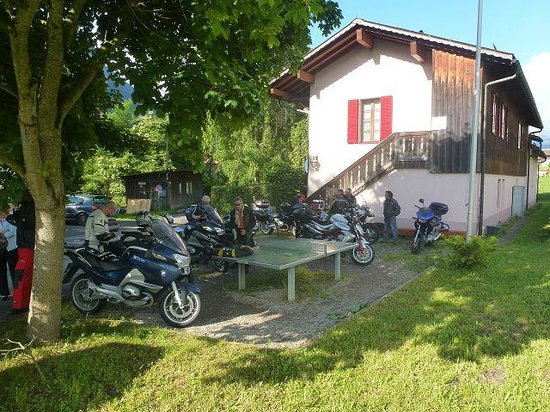 Chateau-d'Oex Youth Hostel : frontansicht