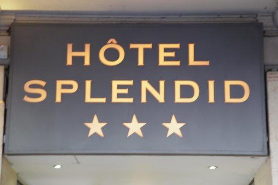 Hotel Splendid : Ne pensée pas réservé