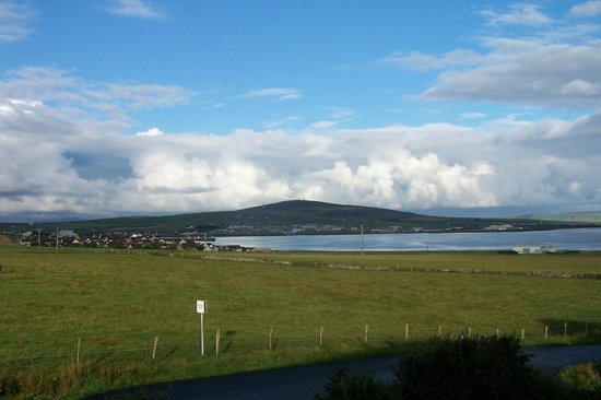Ardconnel B&B: View from our room of Kirkwall