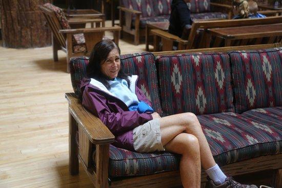 Glacier Park Lodge: waiting for good weather