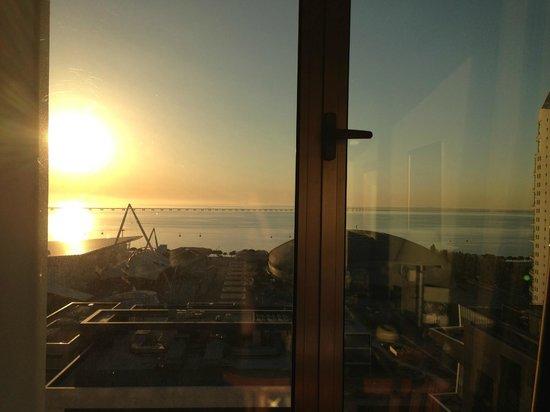 TRYP Lisboa Oriente Hotel: Top floor park view