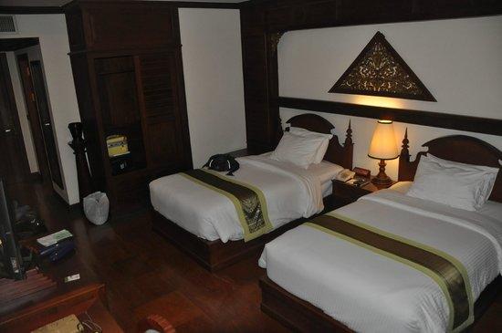 Borei Angkor Resort & Spa: Onze kamer