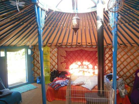 Anglesey Tipi and Yurt Holidays : Yurt