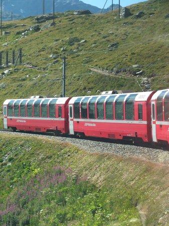 Rhaetian Railway in the Albula / Bernina Landscapes: Il Trenino Rosso