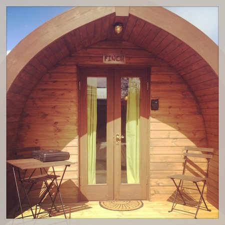 The Little Hide - Grown Up Glamping: Our pod!