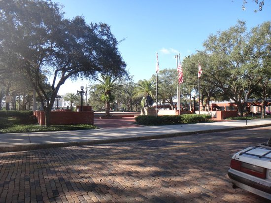 Ybor City State Museum: outside view