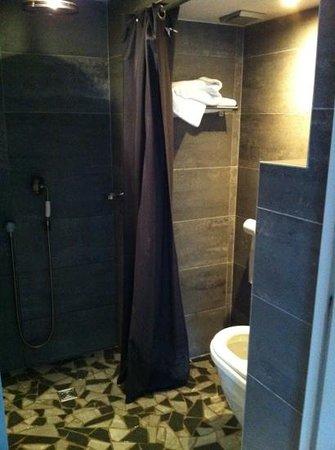 Auberge Basque : WC/douche sont dans un mouchoir...