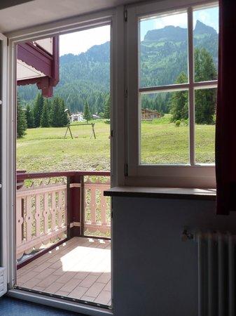 Hotel Conturina: Vista dalla stanza