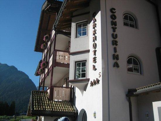 Hotel Conturina: la facciata