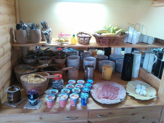 Pension Marketa: breakfast