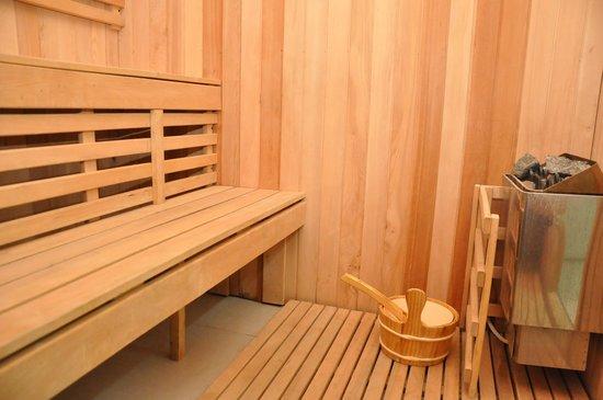 Florida International Hotel : sauna.