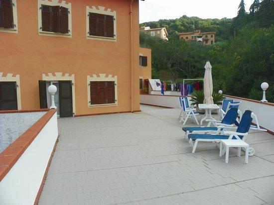 Orchidea Residence Hotel : Terrazzo