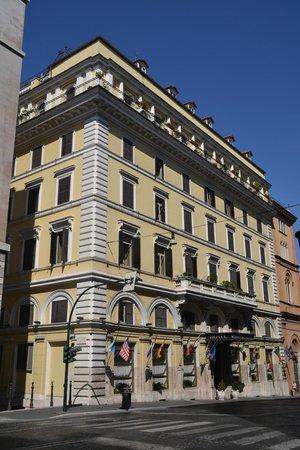 Pace Helvezia Hotel: Fachada Hotel / Facade Hotel