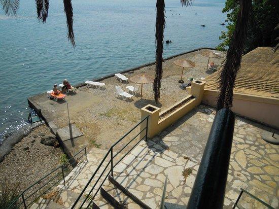 Aegli Hotel: La spiaggia dell'Hotel