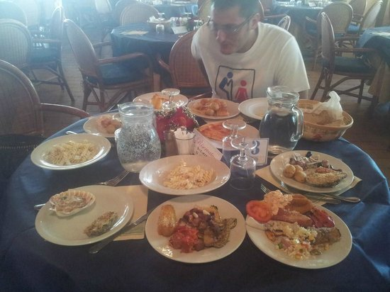 Hotel Villaggio Roller Club: pranzo