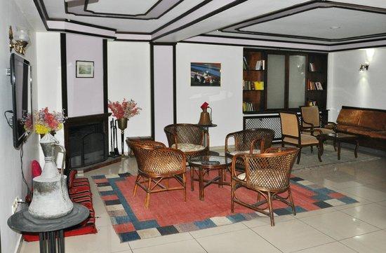 Hali Hotel: Интерьер отеля