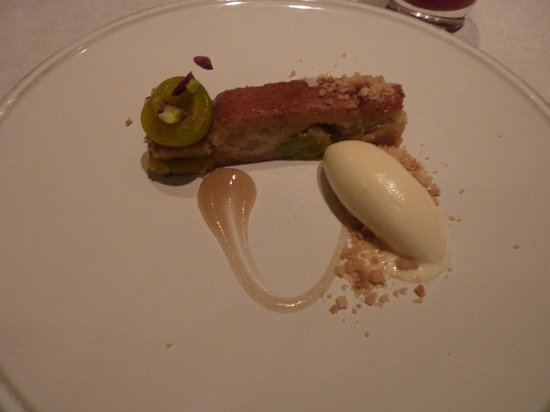 Murano: Greengage Brown Butter Tart