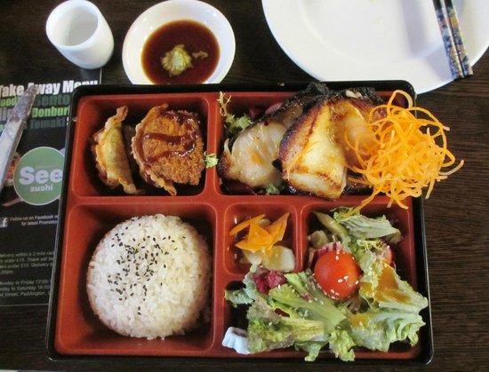 See Sushi: Black Cod Dinner