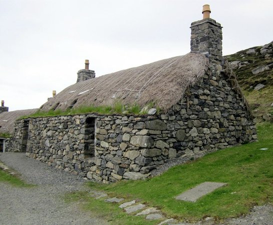 Gearannan Blackhouse Village: Blackhouse at Gearannan