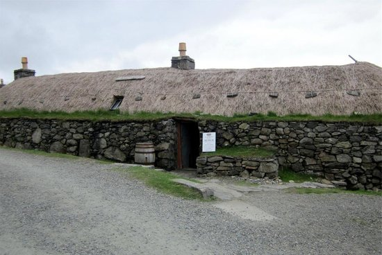Gearannan Blackhouse Village: Blackhouse museum at Gearannan