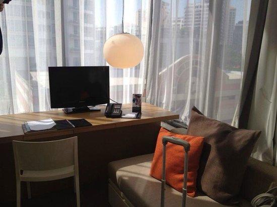 Studio M Hotel: unterer Teil Zimmer