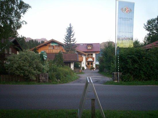 Alpenhotel Allgaeu: Hotel all'alba