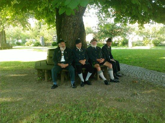 Stiftkirche Rottenbuch: Nonni in attesa della messa