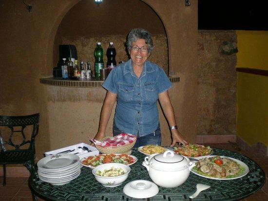 Casa Amigos del Mundo : Maria klar til at byde dig velkommen