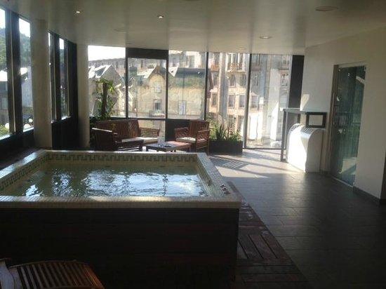 Le Parc des Fées Hotel : L'espace détente....