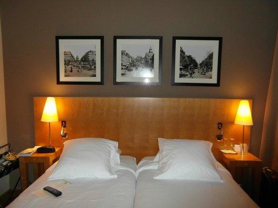 Hotel Royal Saint Michel: habitación doble dos camas