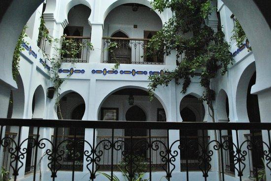 Hotel Riad Casa Hassan Restaurante: Vista desde puerta habitación