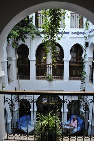 Hotel Riad Casa Hassan Restaurante: Pasillos primer piso