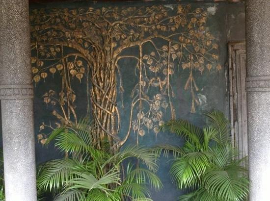Pagoda Resorts Alleppey: at the enterance