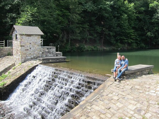Huntingdon, PA: Dam at Greenwood Furnace State Park