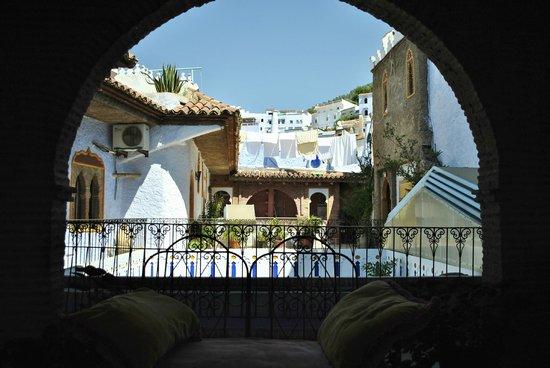 Hotel Riad Casa Hassan Restaurante: Terraza arriba