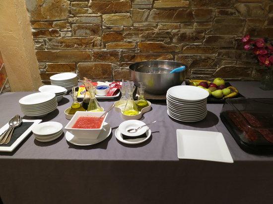 Hotel de Floriana: Bufet desayuno