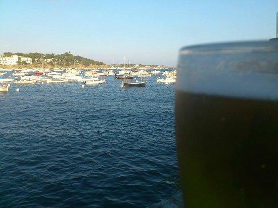 Es Cau : cerveza y vistas relax total