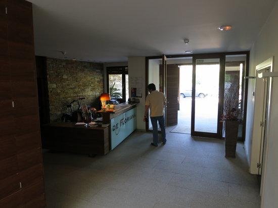 Hotel de Floriana: Recepción