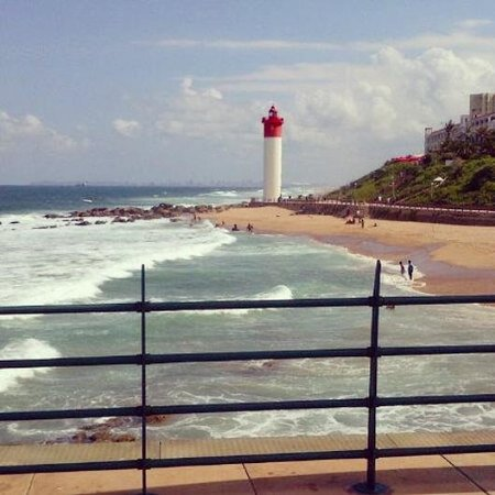 Umhlanga Rocks, Νότια Αφρική: view from the umhlanga pier