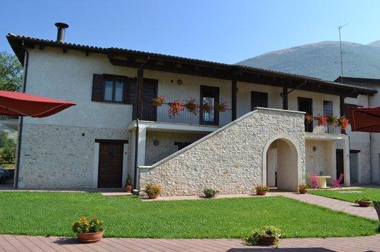 Agriturismo Le case di Quarantotti : La facciata principale