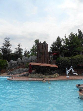 Disney's Grand Californian Hotel & Spa: Slide -wee!