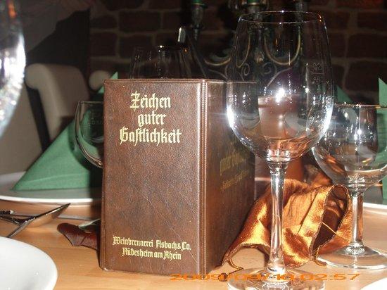 Gasthaus Sankt Martin: Zeichen guter Gastlichkeit