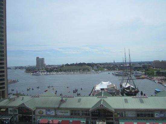 Renaissance Baltimore Harborplace Hotel: Harbor view